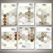 picture of hexagon pattern  - Geometric backgrounds - JPG