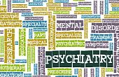 stock photo of mental_health  - Psychiatry Focus on Mental Illness As Concept - JPG
