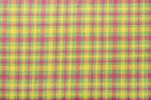 picture of neon green  - Magenta pink and neon green plaid print as background - JPG