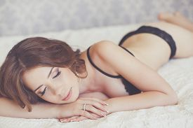 image of early 20s  - Young beautiful woman - JPG