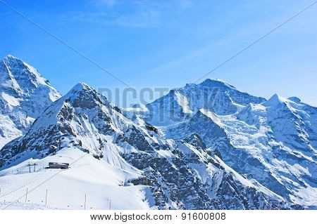 The Snowbound Alps