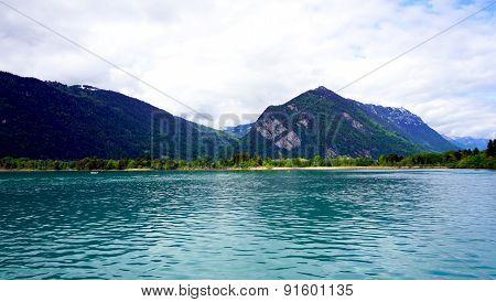 View Of Thun Lake Interlaken