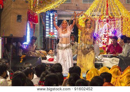 Local Nightly Street Festical In Jodhpur