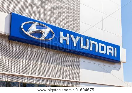 Hyundai Dealership Sign