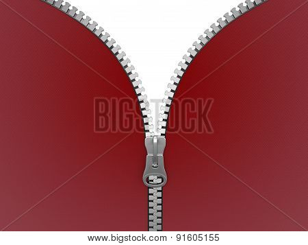 Zipper (clipping path included)