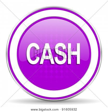 cash violet icon
