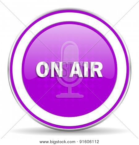 on air violet icon