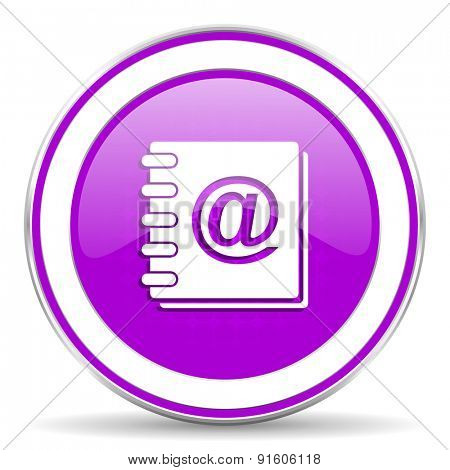email violet icon