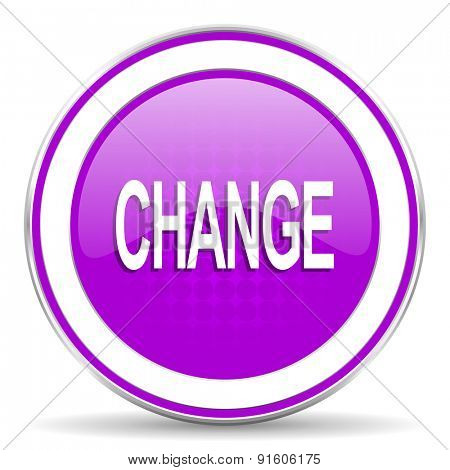 change violet icon