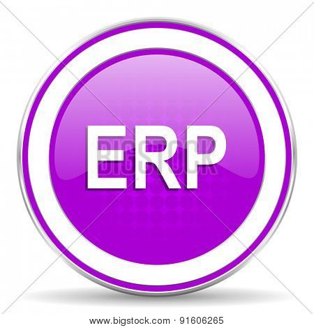 erp violet icon