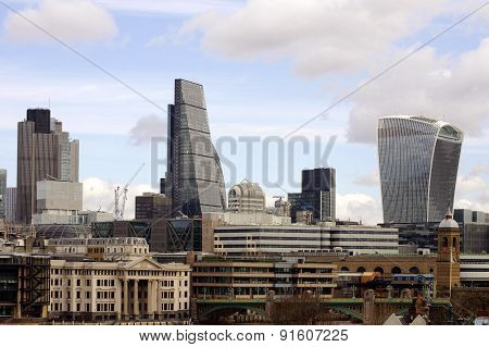 Skyline City of London