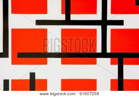 Abstract Shapes And Lines Background