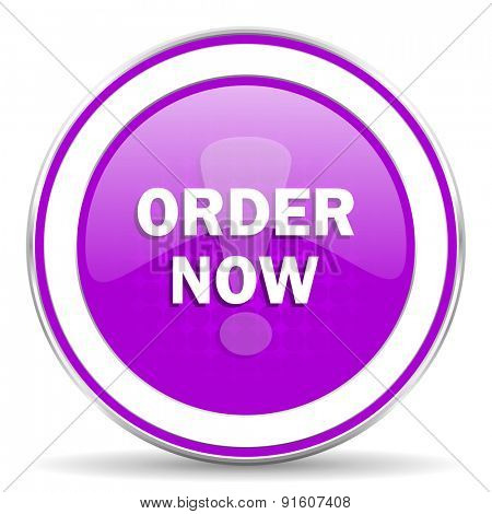 order now violet icon
