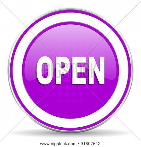open violet icon