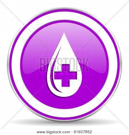 blood violet icon