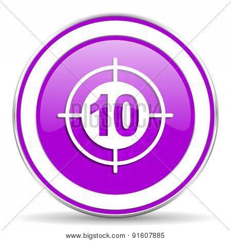 target violet icon