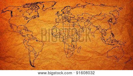 North Korea Territory On World Map