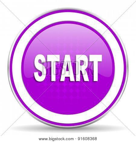 start violet icon