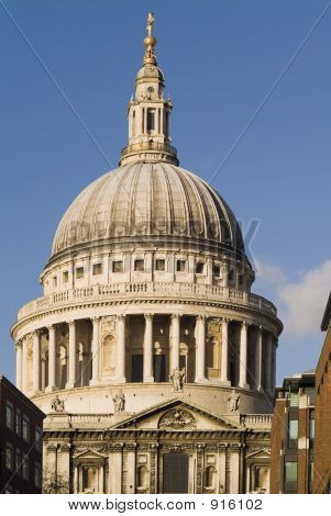 St Pauls Cathedral City Of London England