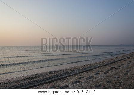 Black Sea shore - landscape orientation