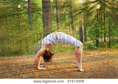 Yoga Bow Pose