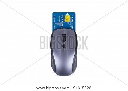 Mouse With Credit Card