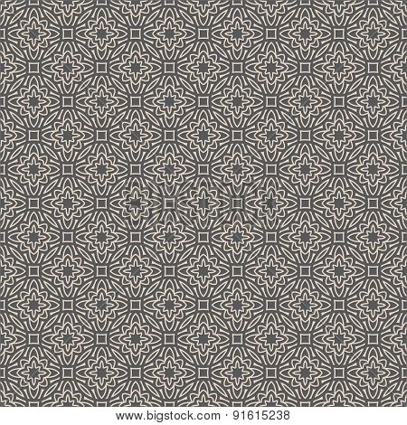 Geometric seamless pattern in arabian style. Can be used for backgrounds and page fill web design. V