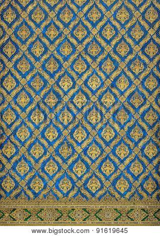 Thai Classic Pattern Named Theppanom