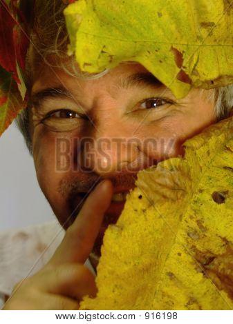 Shhhh....Dirty Senior Man Hiding