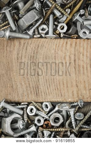 hardware tools as background texture