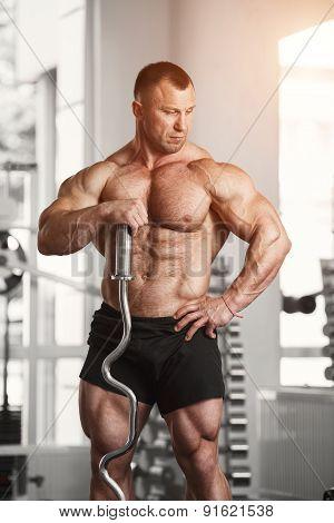Brutal bodybuilder