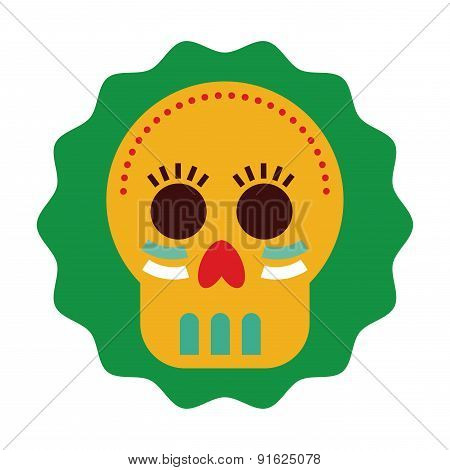 Mexico design over white background vector illustration