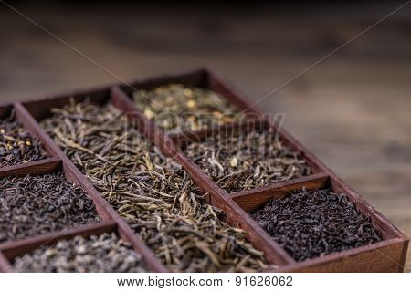Dry Tea In Crate