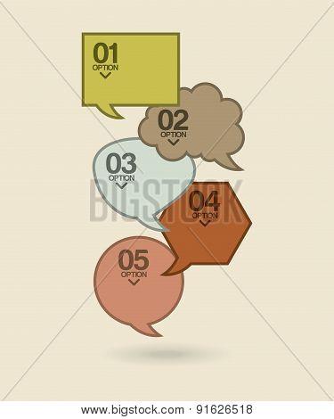 Bubbles design over beige background vector illustration