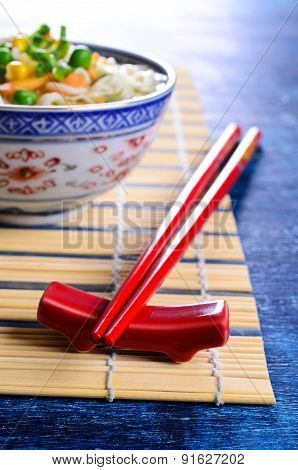 Red Chopsticks