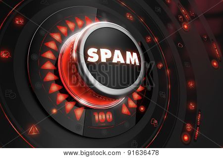 Spam Controller on Black Console.