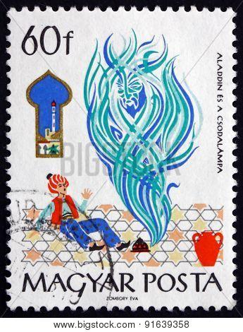 Postage Stamp Hungary 1965 Alladin