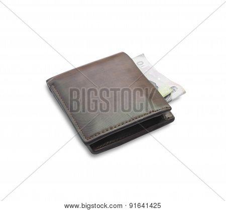 Old Brown Wallet