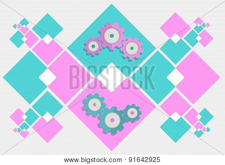 Abstract Gear Mechanism Background