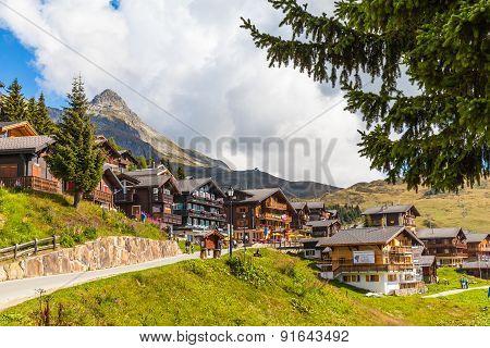 Small Village Bettmeralp