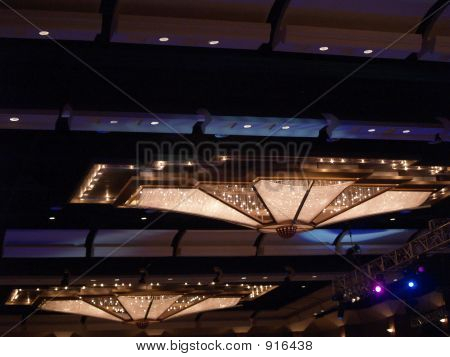 Double Ceiling Chandiliers