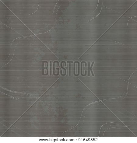 Scratched Metal Sheet Generated Texture