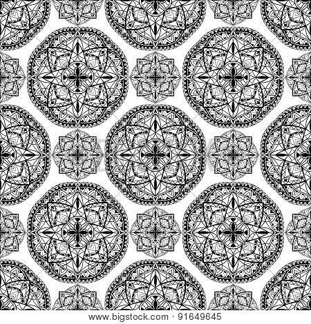 Oriental Abstract Traditional Ornament