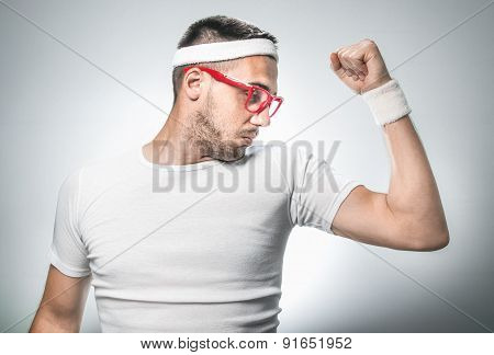 Funny Sport Man