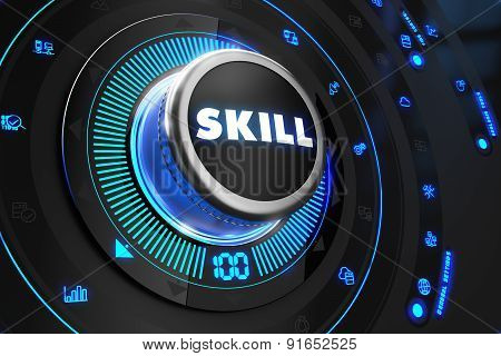 Skill Controller on Black Control Console.