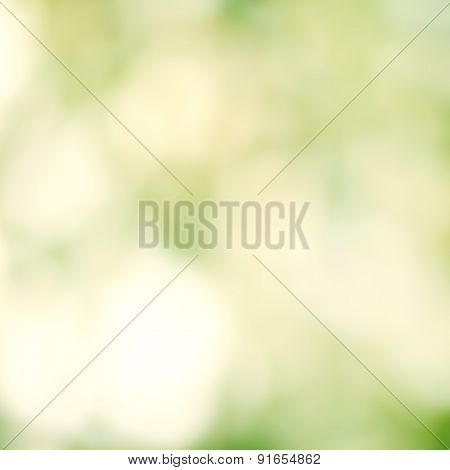 Abstract Summer Background. Natural Abstract Bokeh Background With Sunlight