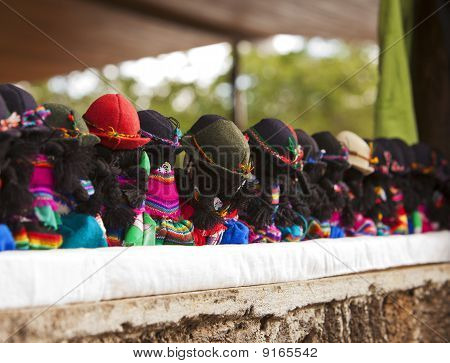 Row Of Dolls