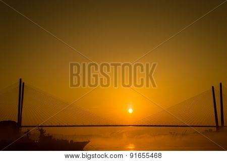 Vladivostok Russky Bridge