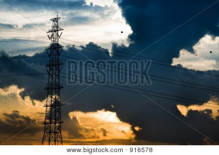 Power And Sunset