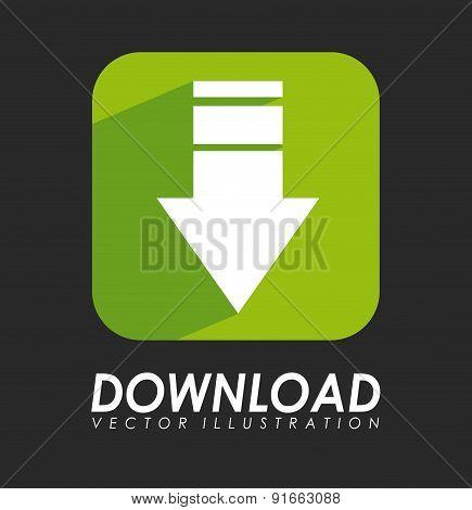 Download design over gray background vector illustration